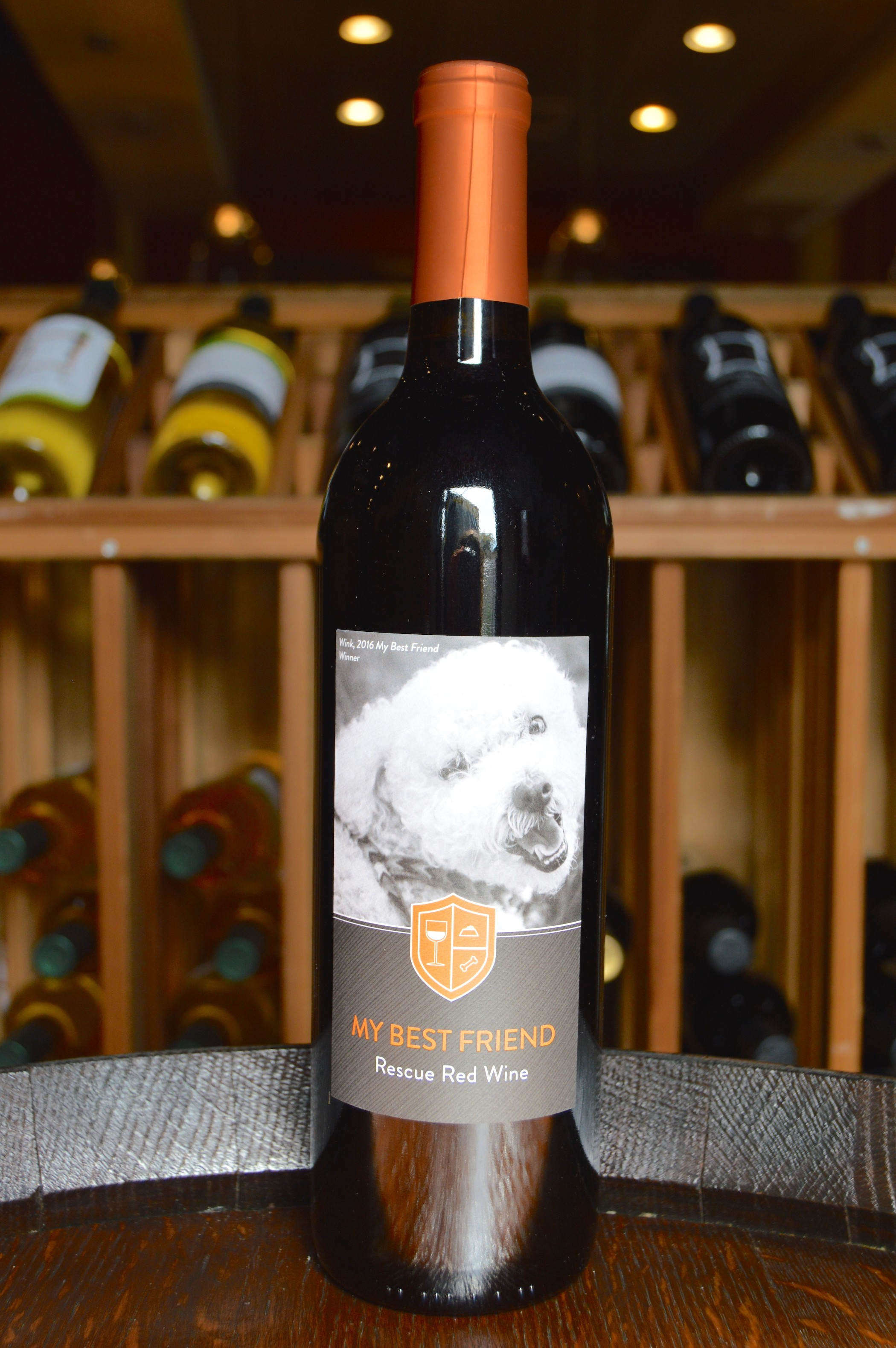my best friend rescue red wine dog monterey - Best Red Wine